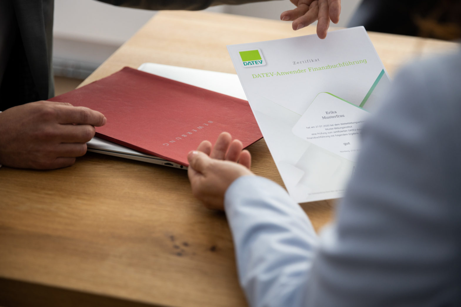 Zertifikat DATEV-Anwender Lohn und Gehalt